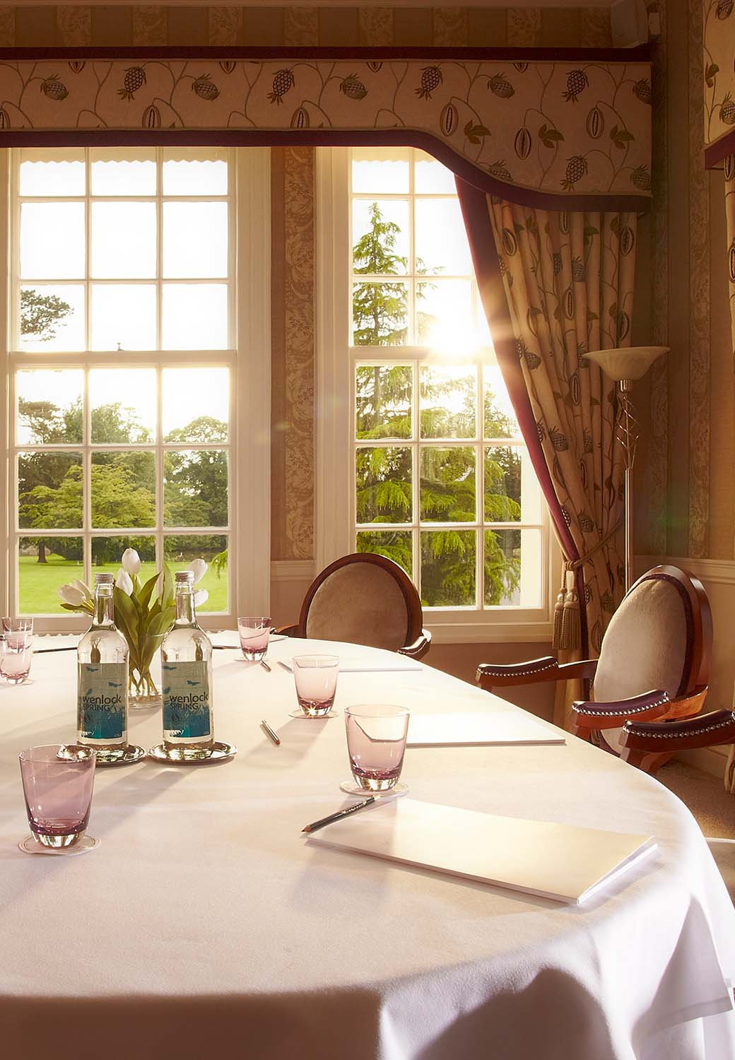 Brockencote Hall Hotel Conference set up
