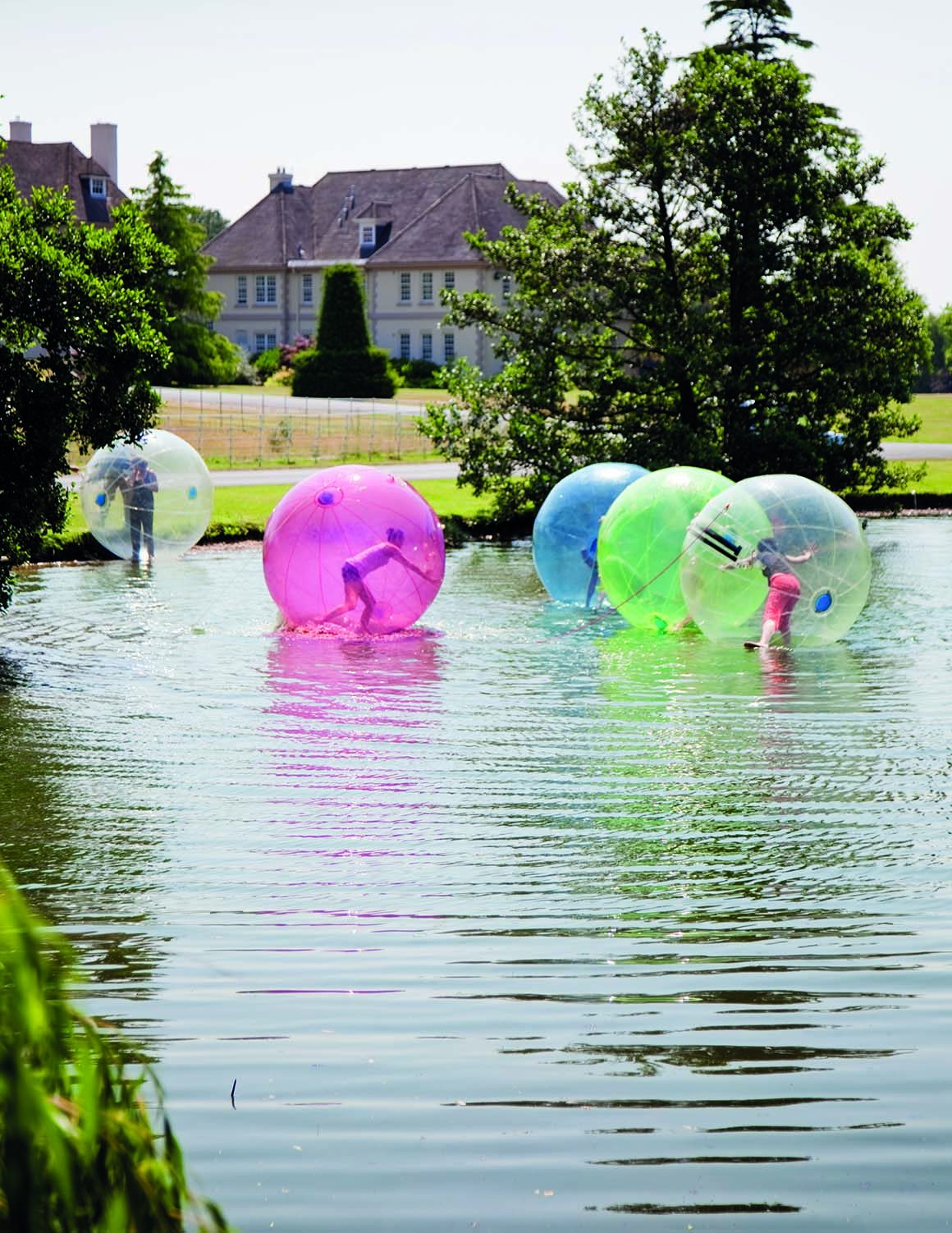 Brockencote Hall Hotel photo gallery outdoor water zorbing