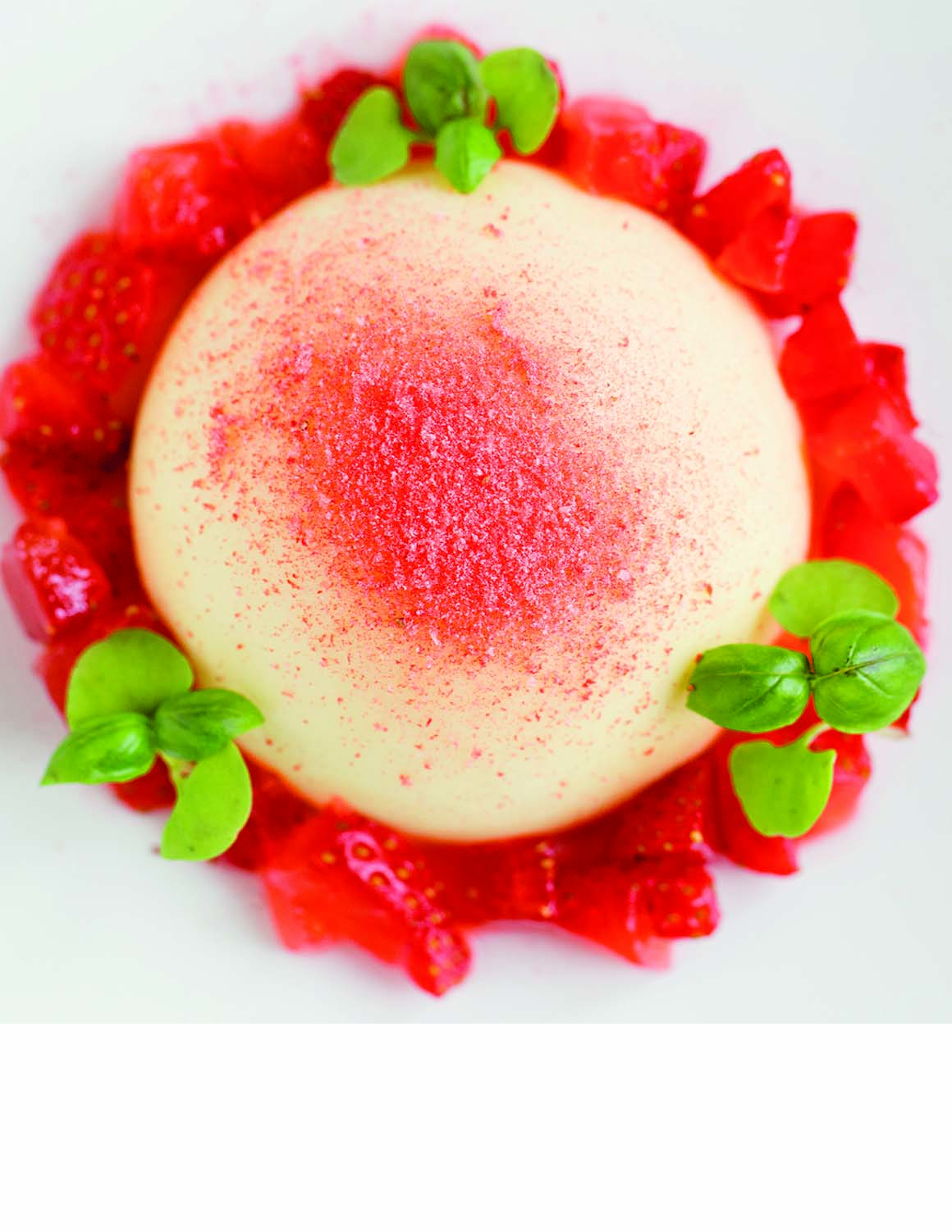 Brockencote Hall Hotel photo gallery strawberry dessert