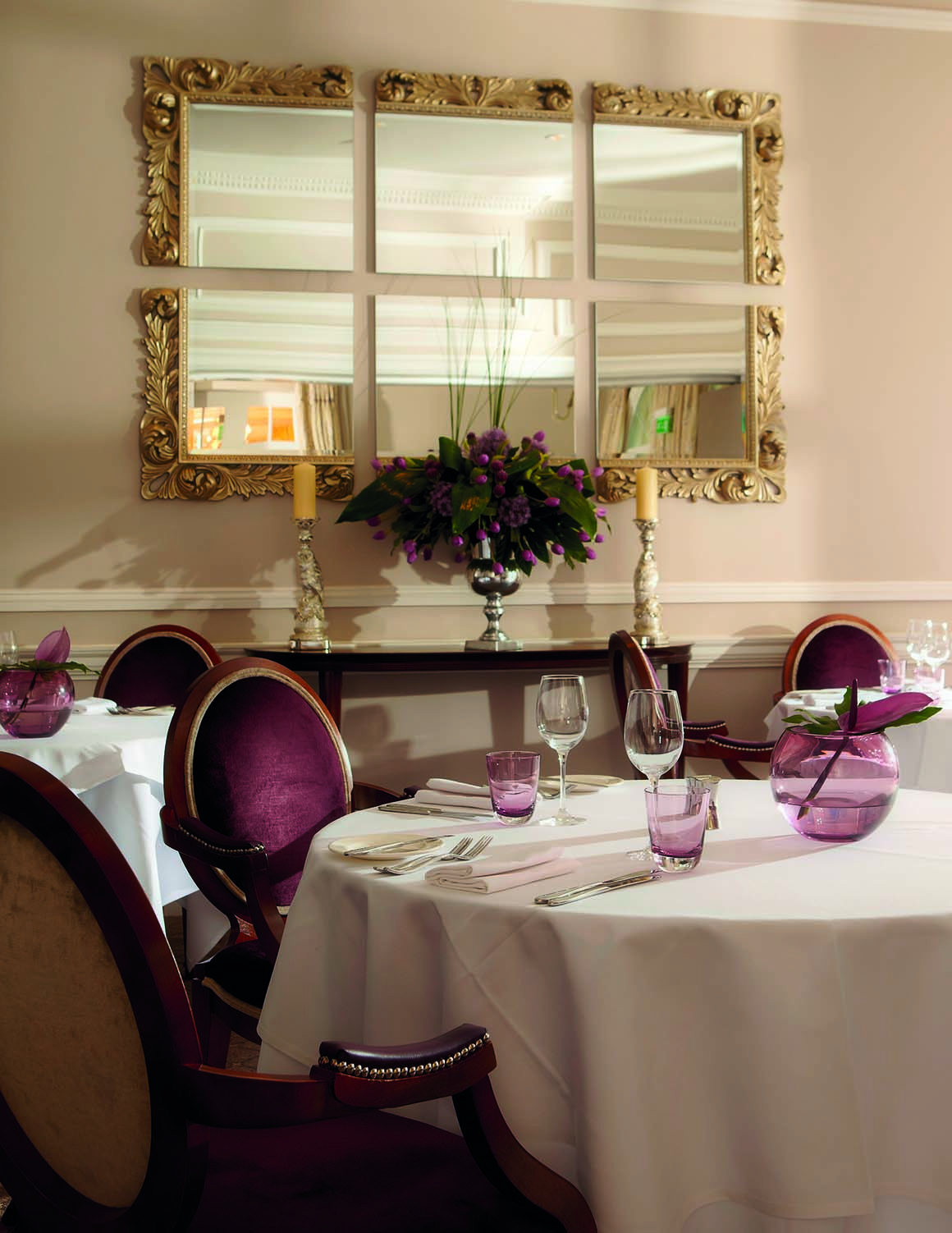 Brockencote Hall Hotel photo gallery private dining room