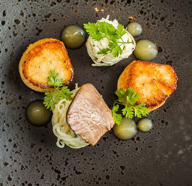 Brockencote Hall Hotel Restaurant Food