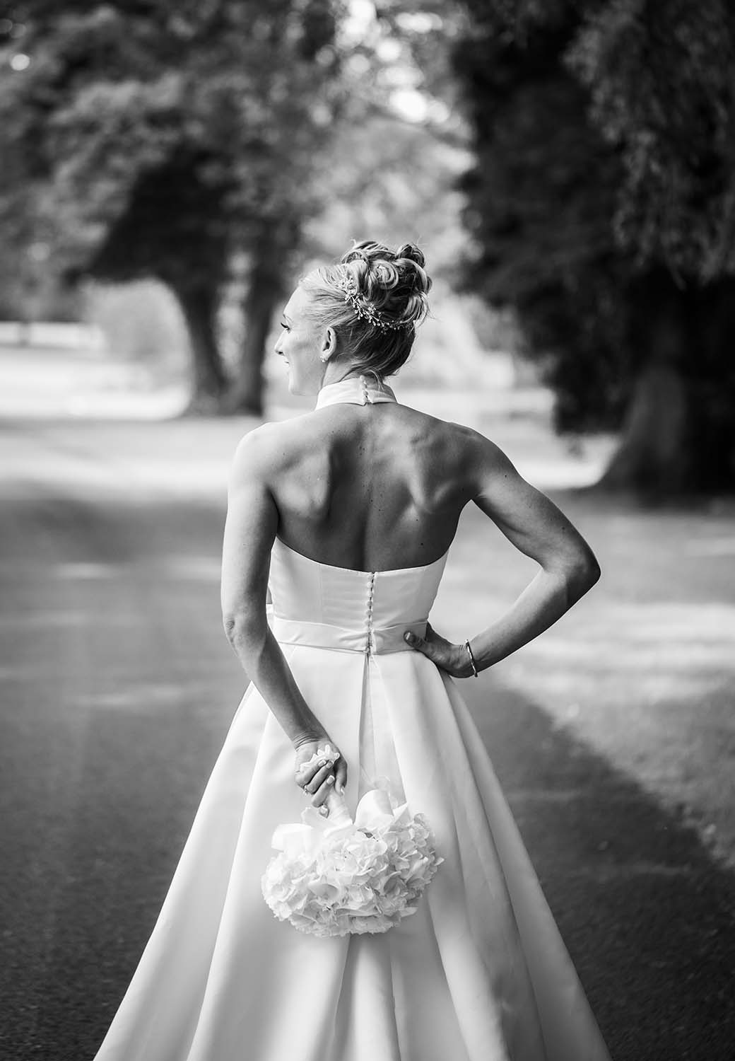 Brockencote Hall Hotel Wedding Bride