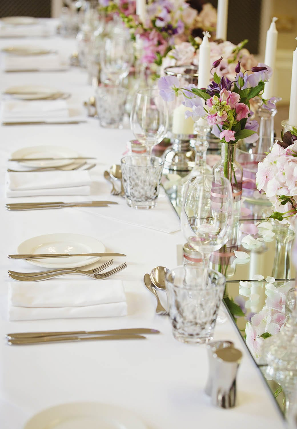 Brockencote Hall Hotel wedding breakfast