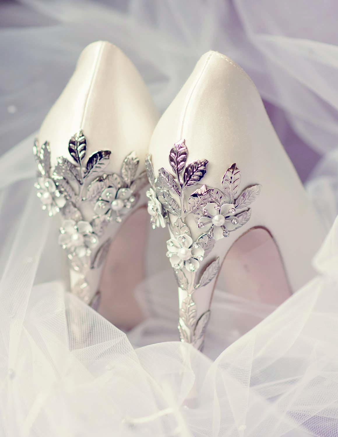 Brockencote Hall Hotel Wedding prices bridal shoes