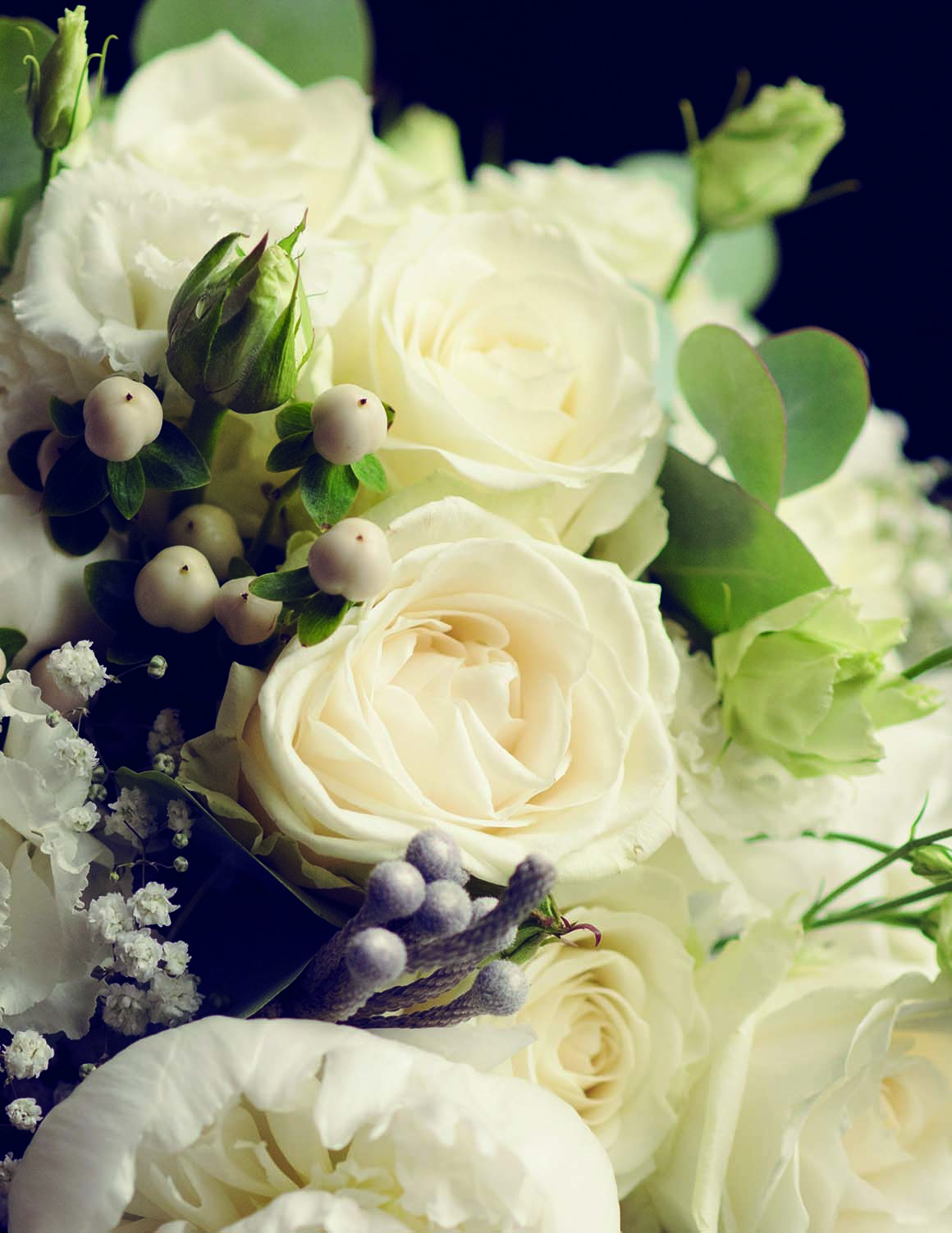 Brockencote Hall Hotel Wedding prices white flowers