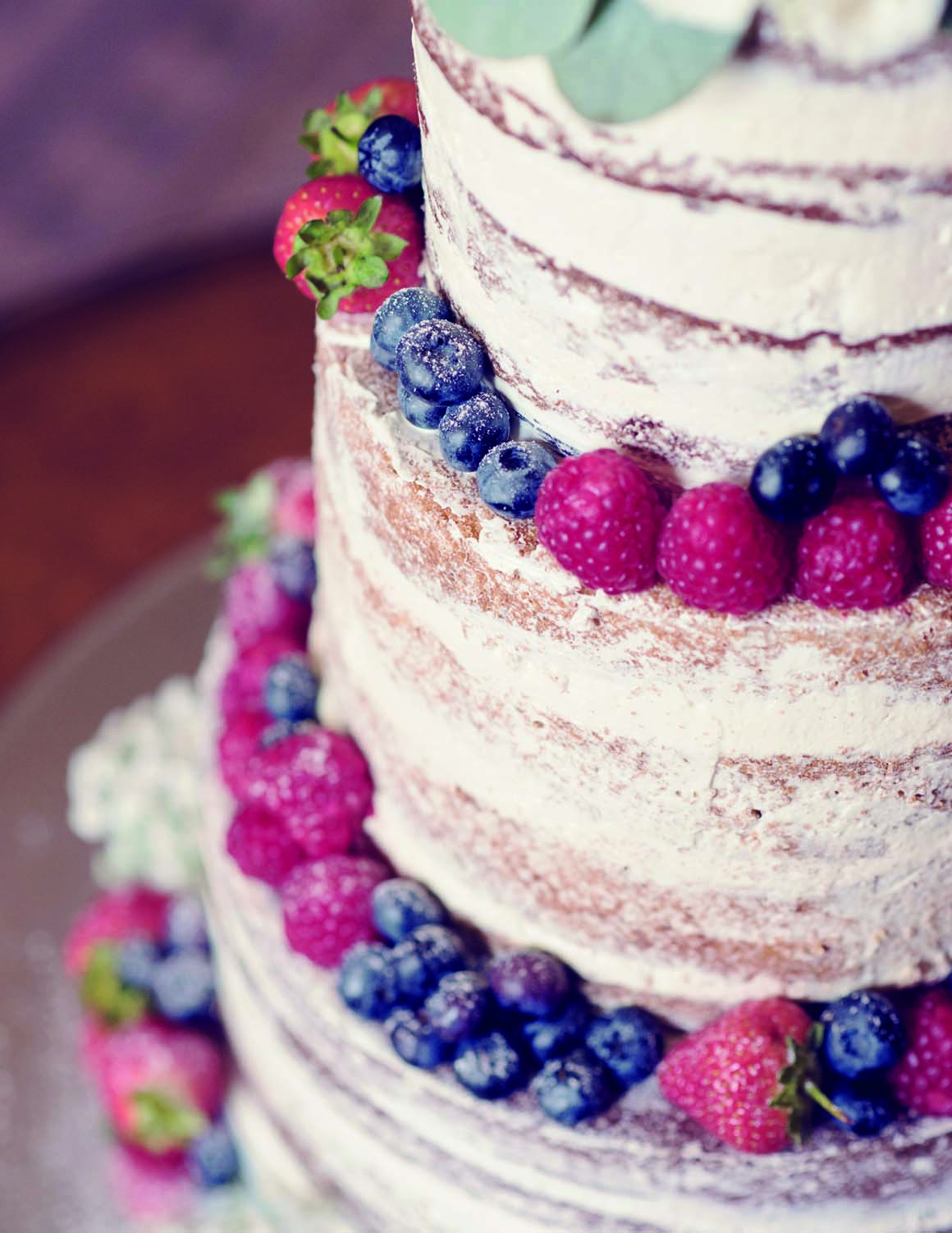 Brockencote Hall Hotel Wedding prices naked cake