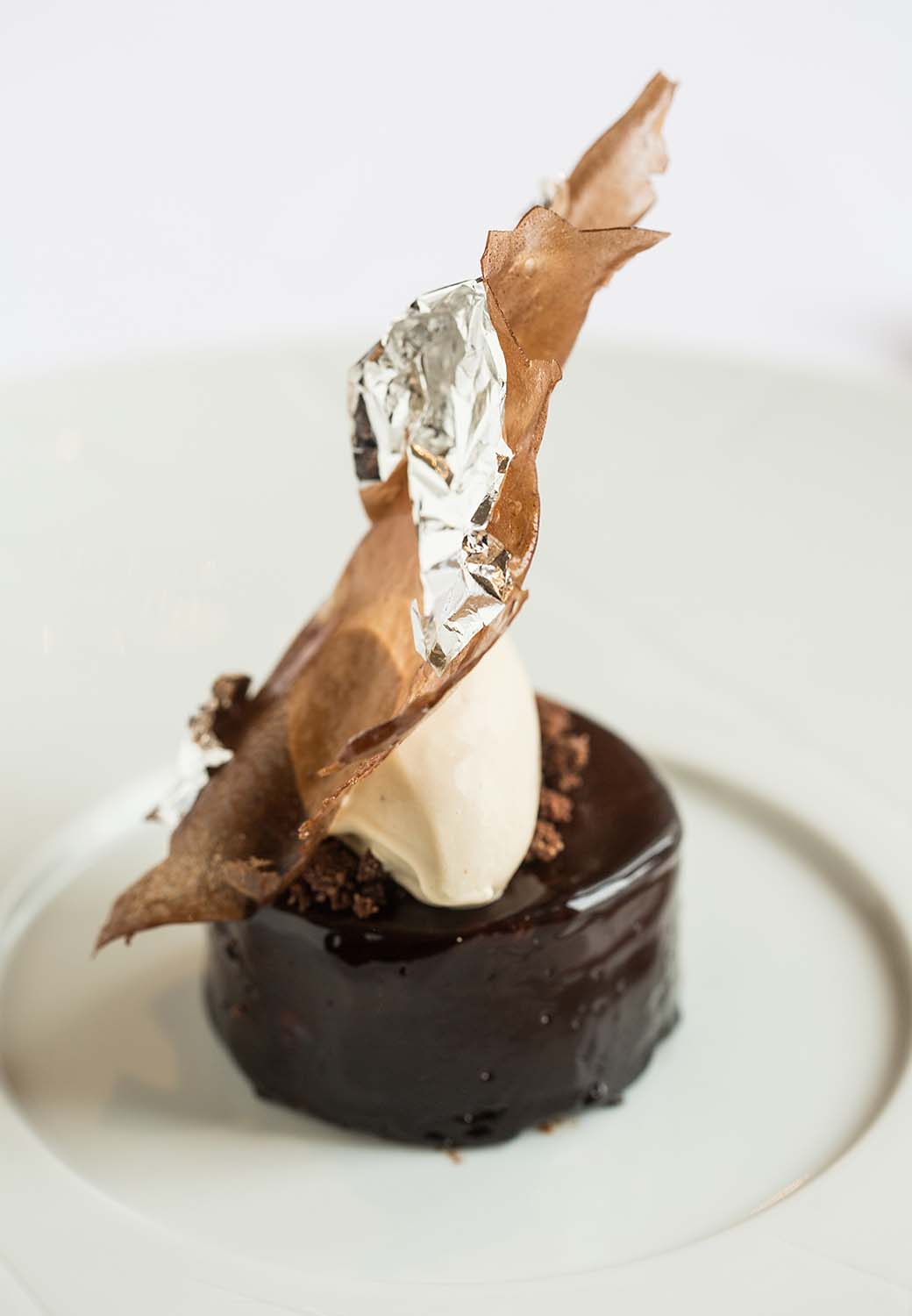 Fine dining desserts in Worcestershire