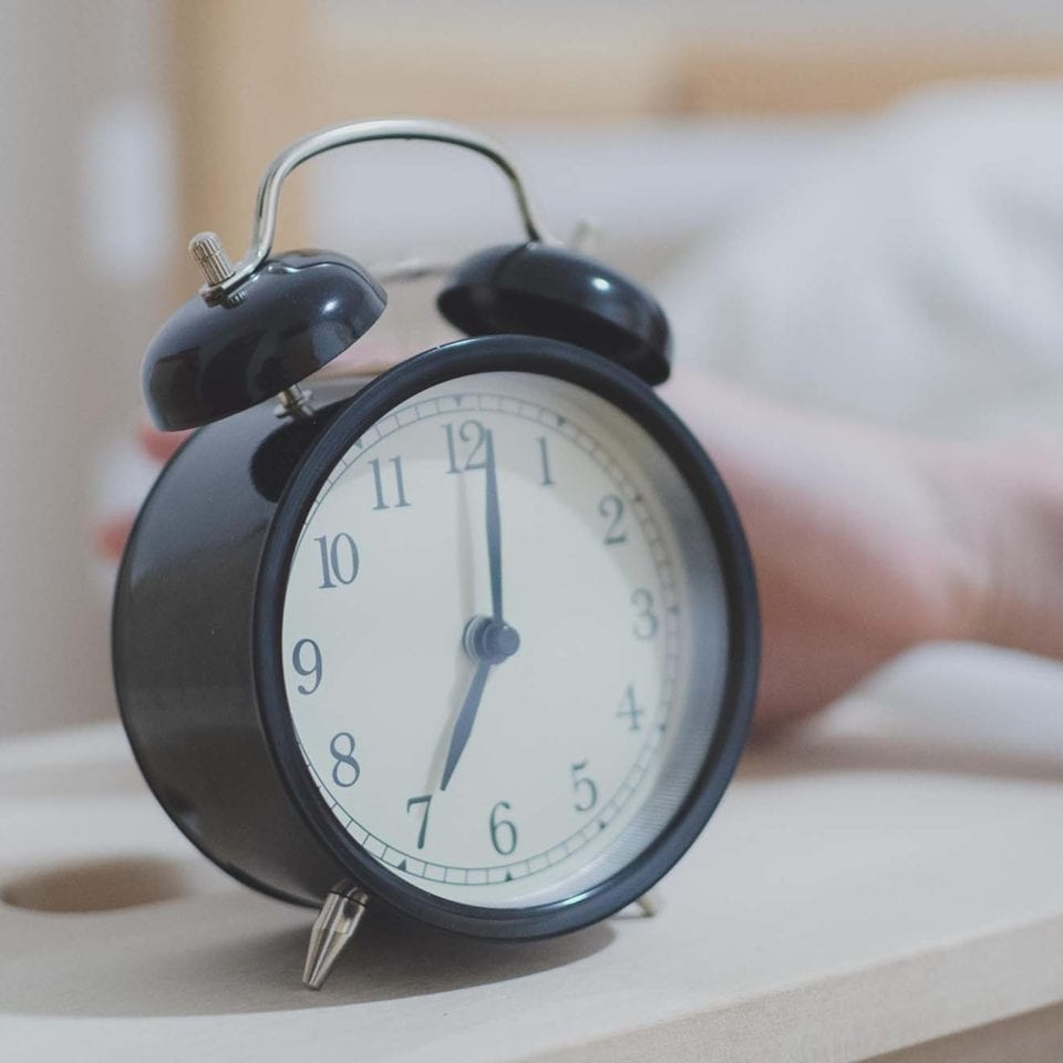 Keep calm and pretend it's not Monday alarm clock