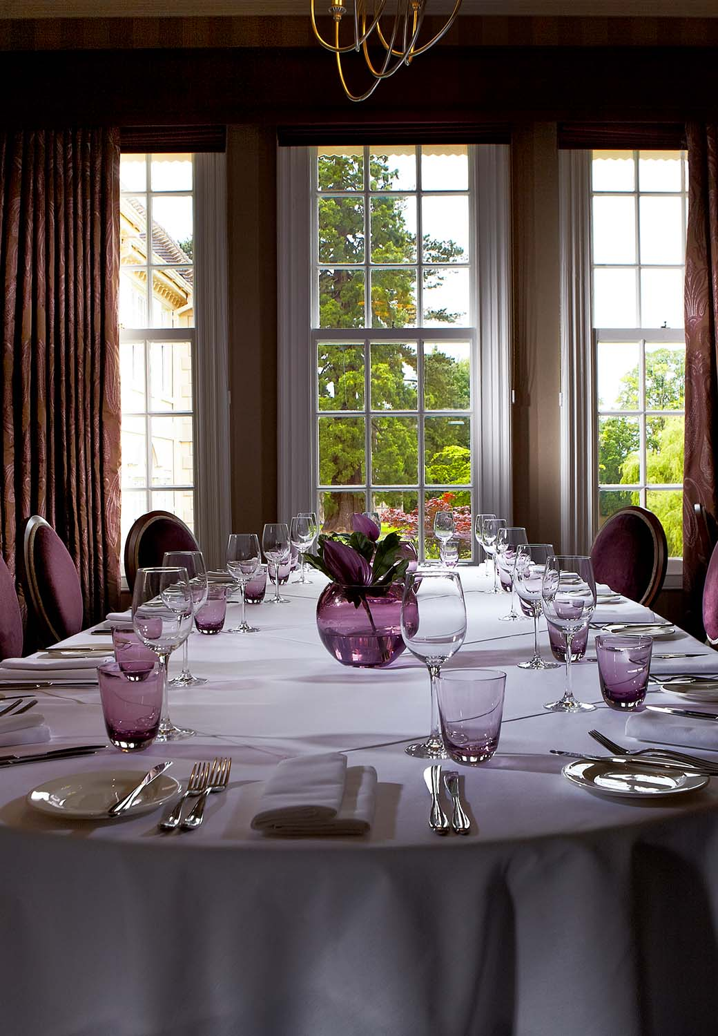 Private dining Worcestershire Swan room