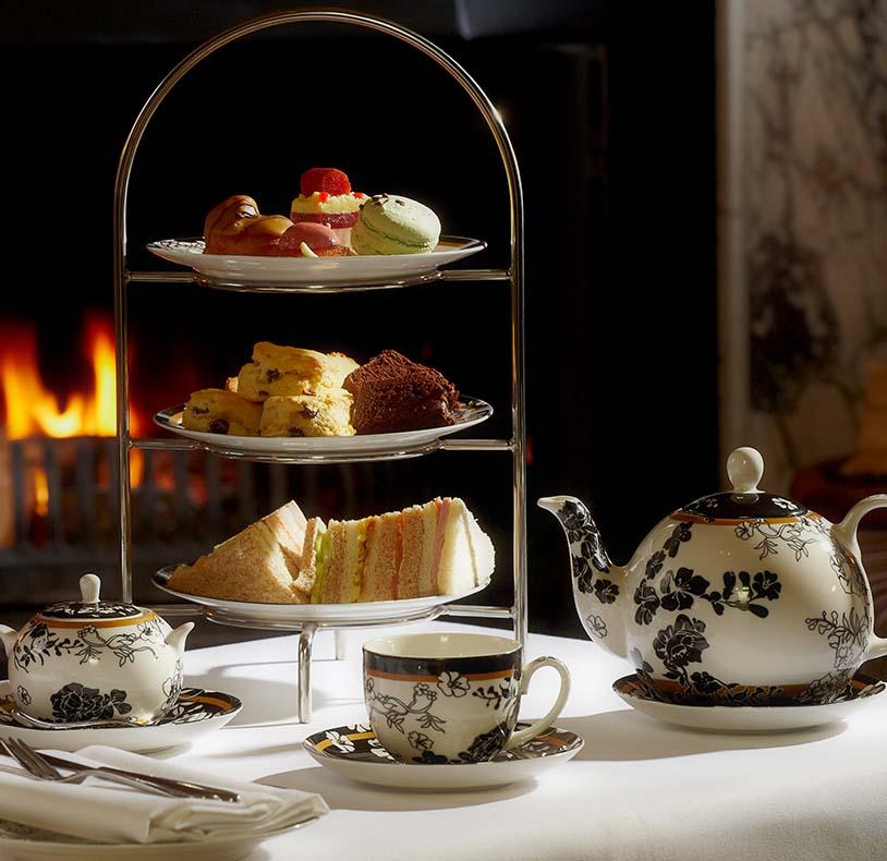 Brockencote Hall Hotel Restaurant Afternoon Tea