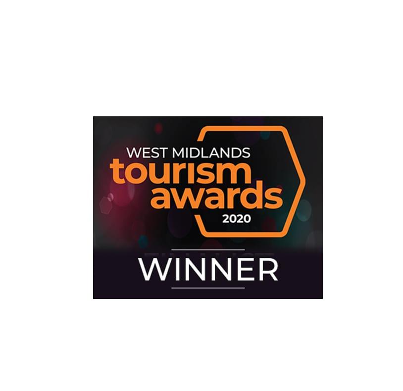 West Midlands Tourism Awards logo 2020 Winner