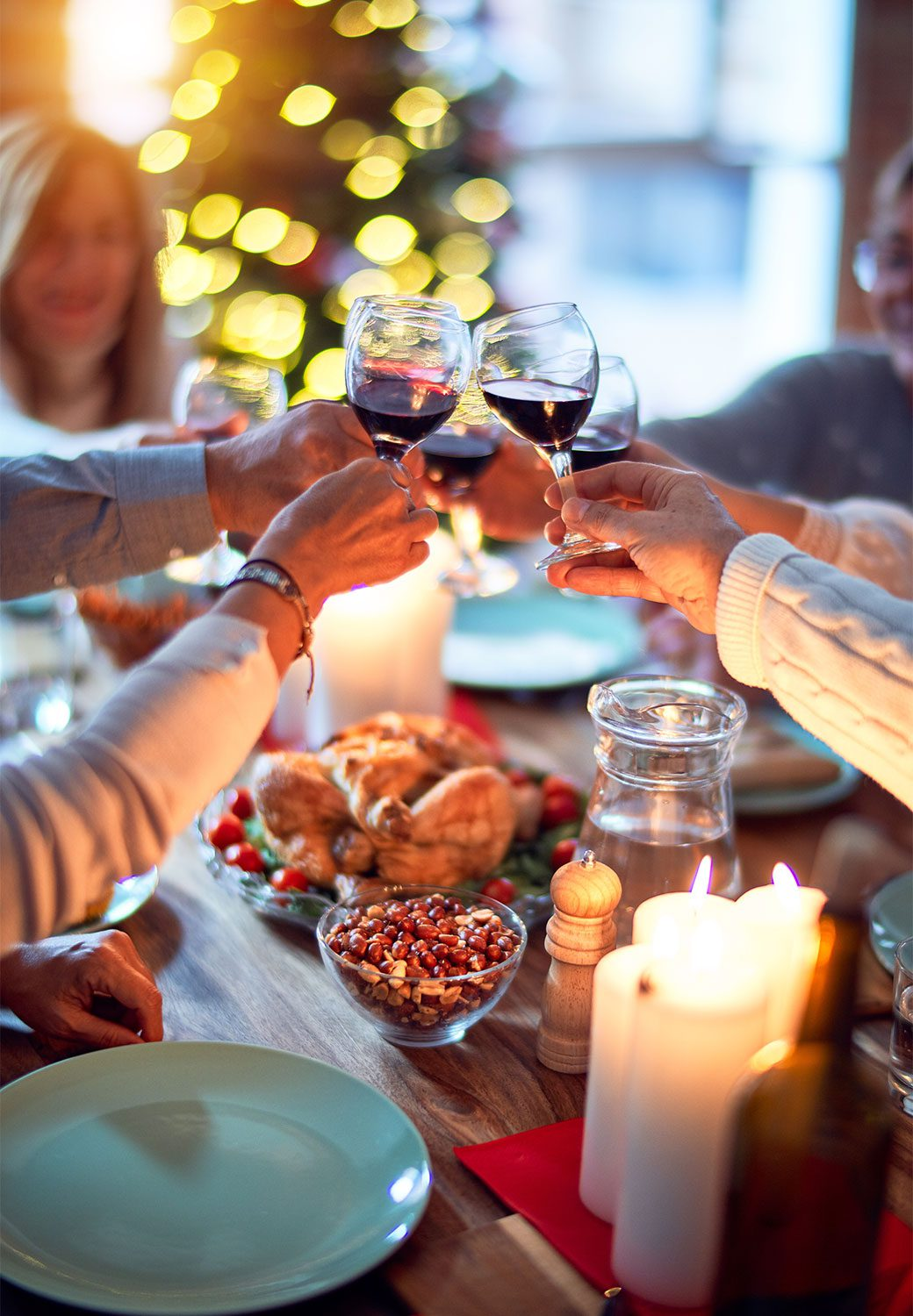 festive dining worcestershire